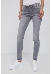 Pepe Jeans - Jeansy Pixie. Kolor: szary