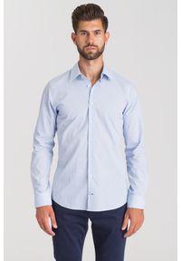 Niebieska koszula Joop! Collection na lato, casualowa