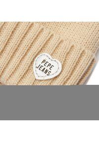 Beżowa czapka zimowa Pepe Jeans
