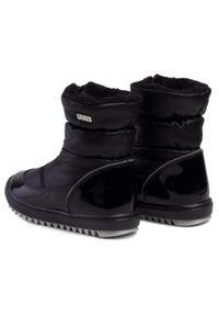 Czarne buty zimowe Bartek z cholewką, na spacer
