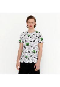 House - Koszulka z nadrukiem Looney Tunes - Biały. Kolor: biały. Wzór: nadruk