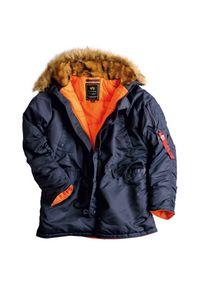 Kurtka Alpha Industries na zimę, długa