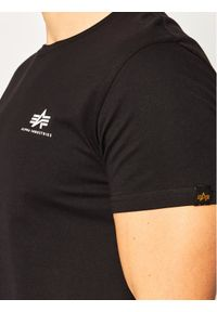 Alpha Industries T-Shirt Basic 188505 Czarny Regular Fit. Kolor: czarny