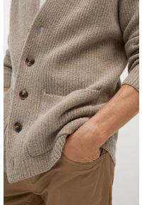 Sweter rozpinany Mango Man casualowy, na co dzień