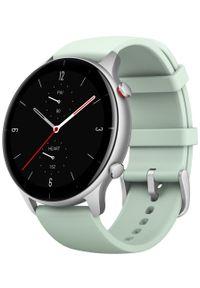 AMAZFIT - Amazfit smartwatch GTR 2e, Matcha Green. Rodzaj zegarka: smartwatch. Kolor: zielony. Styl: sportowy, elegancki