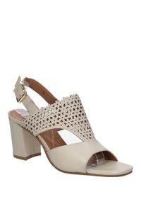 Sandały Bruno Premi w kolorowe wzory, na lato, eleganckie