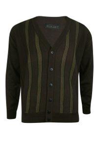 Sweter Elkjaer elegancki, na co dzień, w paski