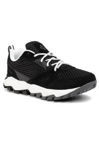 Czarne buty do biegania columbia na co dzień, z cholewką