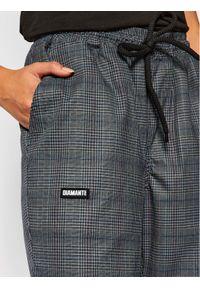Szare spodnie materiałowe Diamante Wear