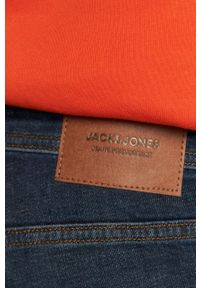 Jack & Jones - Jeansy Jjiglenn Jjfelix. Kolor: niebieski