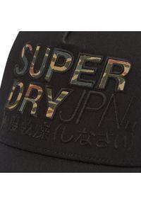 Superdry - Czapka z daszkiem SUPERDRY - Lineman Trucker Cap M9010017A Black 02A. Kolor: czarny. Materiał: poliester, materiał, bawełna #3