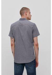 Tom Tailor - Koszula. Typ kołnierza: kołnierzyk klasyczny. Kolor: szary. Materiał: tkanina, włókno. Styl: klasyczny