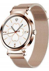 Smartwatch Bakeeley SD-1 Różowe złoto. Rodzaj zegarka: smartwatch. Kolor: złoty, różowy, wielokolorowy
