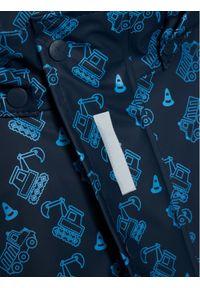 Playshoes Kurtka przeciwdeszczowa 408533 M Granatowy Regular Fit. Kolor: niebieski