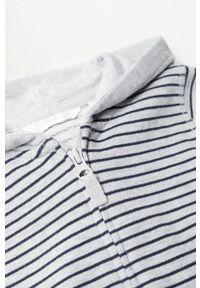 Szara bluza rozpinana Mango Kids casualowa, na co dzień
