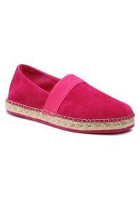 Espadryle GANT - Lular 22563565 Pink G580. Kolor: różowy. Materiał: skóra, zamsz. Szerokość cholewki: normalna. Obcas: na płaskiej podeszwie