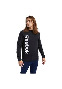 Bluza męska treningowa Reebok Elements Linear FK6130. Materiał: poliester, bawełna, materiał. Sport: fitness