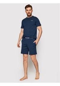 Guess Piżama U1GX00 JR018 Granatowy Regular Fit. Kolor: niebieski