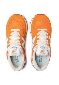 Pomarańczowe sneakersy New Balance 574