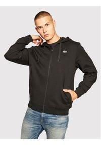 Lacoste Bluza SH1551 Czarny Regular Fit. Kolor: czarny