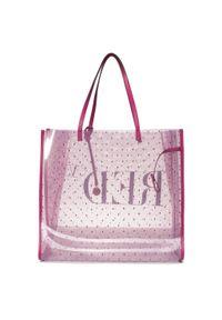 Różowa torebka klasyczna Red Valentino klasyczna