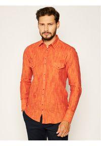 Pomarańczowa koszula casual Rage Age