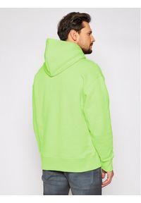 Tommy Jeans Bluza Tjm Badge Hoodie DM0DM06593 Zielony Regular Fit. Kolor: zielony
