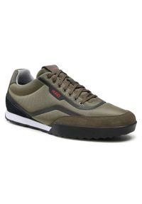 Hugo Sneakersy Matrix 50455223 10221518 01 Zielony. Kolor: zielony