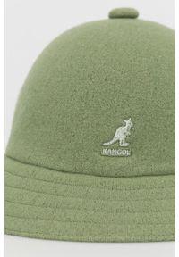 Kangol - Kapelusz. Kolor: zielony