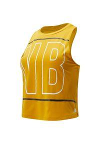 Koszulka sportowa New Balance z dekoltem na plecach