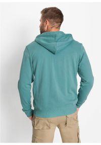 Niebieska bluza bonprix z kapturem #7