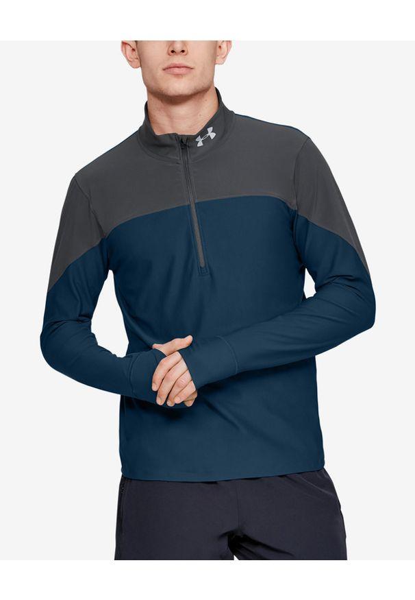 Bluza Under Armour długa, sportowa, w kolorowe wzory