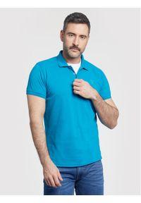 Niebieska koszulka polo Vistula polo