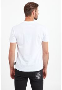 T-shirt Versace Jeans Couture w kolorowe wzory, elegancki