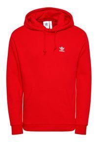 Adidas - adidas Bluza Trefoil Essentials GN3389 Czerwony Regular Fit. Kolor: czerwony