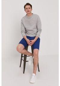 Szara bluza nierozpinana Pepe Jeans na co dzień, casualowa, z aplikacjami