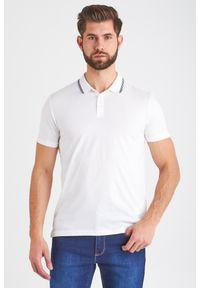 Trussardi Jeans - POLO trussardi jeans. Typ kołnierza: polo. Wzór: jednolity, nadruk. Styl: sportowy