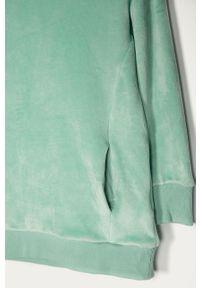 Turkusowa bluza GAP casualowa, z kapturem, na co dzień