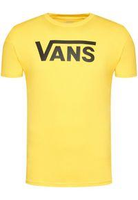 Żółty t-shirt Vans