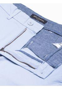 Niebieskie szorty Ombre Clothing na lato, na co dzień, casualowe, krótkie
