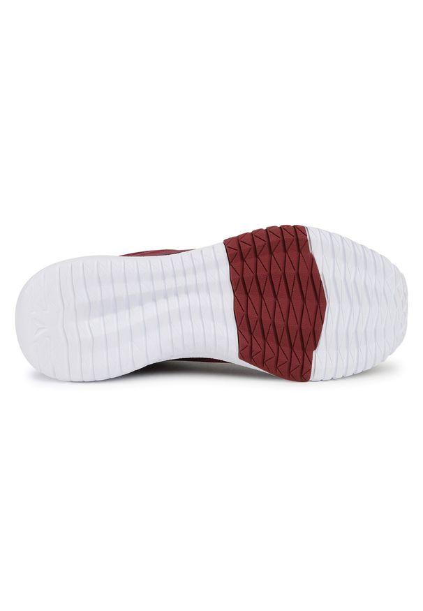 Czerwone buty do fitnessu Reebok z cholewką