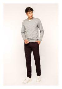 Pierre Cardin Spodnie materiałowe Lyon 33757/000/4746 Bordowy Modern Fit. Kolor: czerwony. Materiał: materiał