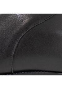 Hispanitas - Botki HISPANITAS - Teide HI00484 Black. Kolor: czarny. Materiał: skóra. Szerokość cholewki: normalna. Wzór: aplikacja. Obcas: na obcasie. Wysokość obcasa: średni