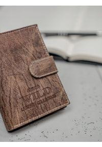 Brązowy portfel ALWAYS WILD