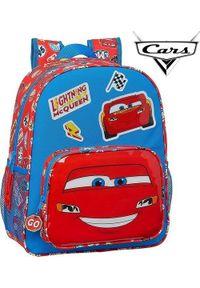 Cars Plecak szkolny Cars Mc Queen Niebieski Czerwony. Kolor: niebieski, czerwony, wielokolorowy