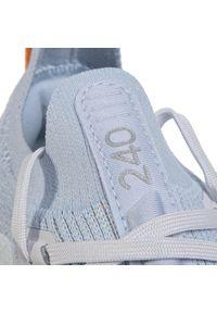 Niebieskie buty do biegania Adidas na co dzień, Adidas Terrex, z cholewką