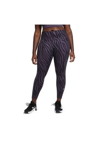 Spodnie damskie fitness Nike One 7/8 DC5276. Materiał: tkanina, skóra, materiał, poliester. Technologia: Dri-Fit (Nike). Wzór: gładki. Sport: fitness