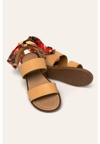 Beżowe sandały Liu Jo z okrągłym noskiem