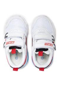 Primigi - Sneakersy PRIMIGI - 7448700 Bianco. Okazja: na spacer. Zapięcie: rzepy. Kolor: biały. Materiał: skóra ekologiczna, materiał. Szerokość cholewki: normalna