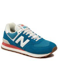 Niebieskie buty sportowe New Balance 574